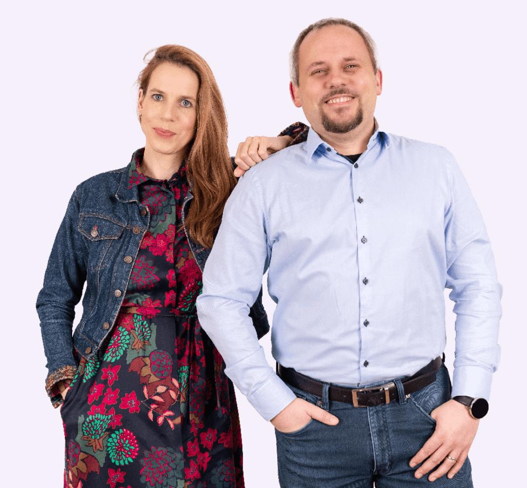 Ivana Smejkalová a Jan Nedělník